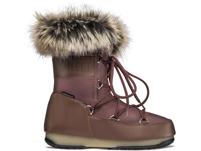 Moon Boot Monaco WP 2 Lage Winter Boots Dames, rust